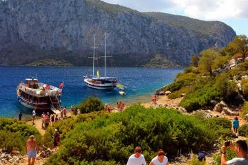 Marmaris Aegean Islands Tour - Hisaronu Boat Trip
