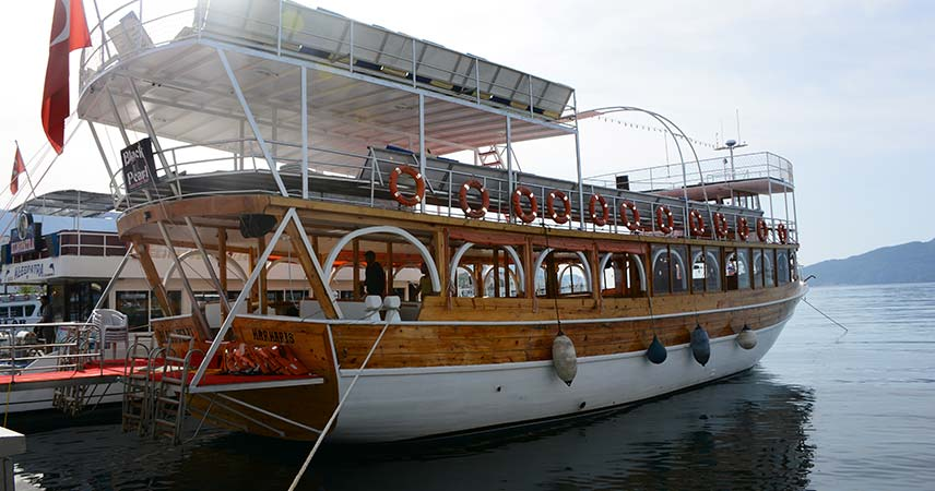 Our boat in Marmaris