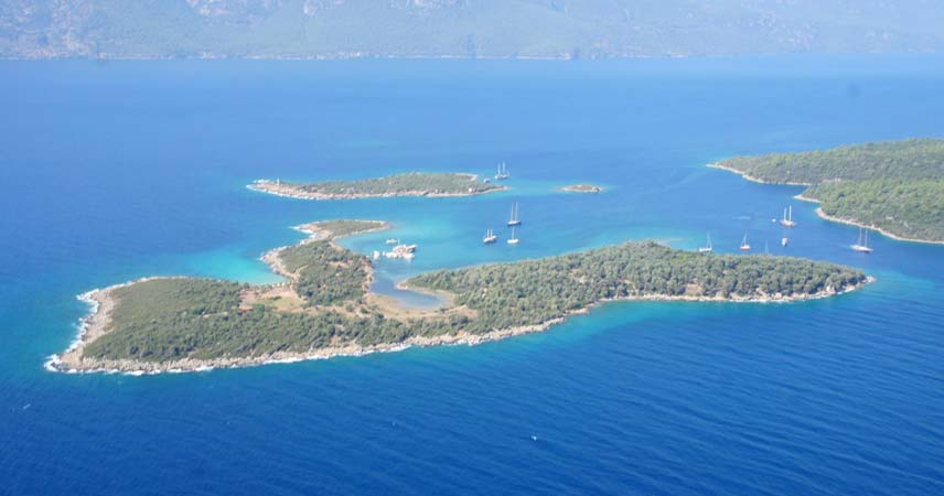 Marmaris Cleopatra Island Boat Trip - Sedir Island and Different Bays