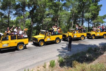 Fethiye Jeep Safari - Saklikent Gorge - Mud Bath - Patara Beach