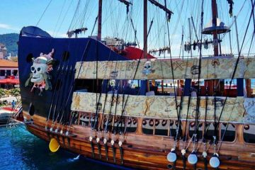 Bodrum Pirate Boat Trip - Bodrum Boat Tours - Bodrum Excursions