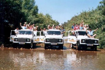 Marmaris Jeep Safari - Visit Waterfall - Enjoy Water Fight