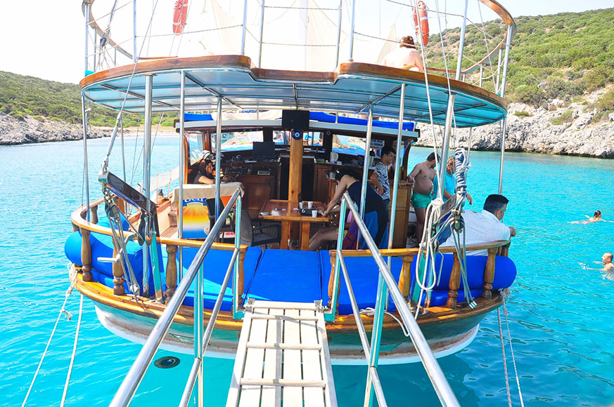 Bodrum Boat Trip - Discover different bays of Bodrum!